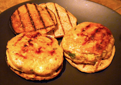Habanero Turkey Burgers Recipe