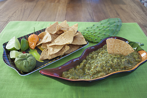 Check out the Recipe – Pineapple Cactus Habanero Salsa