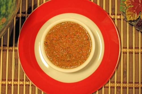 Habanero-Roasted Red Pepper Sauce Recipe