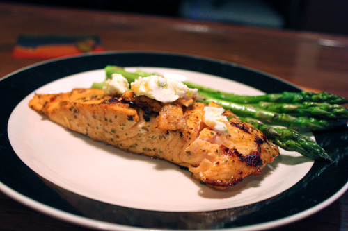 Grilled Salmon with Habanero Citrus Marinade