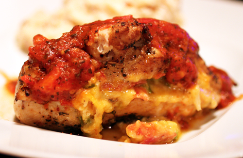 Habanero Pizza Stuffed Chicken Breasts Recipe